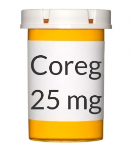 Coreg 6.25mg Tablets