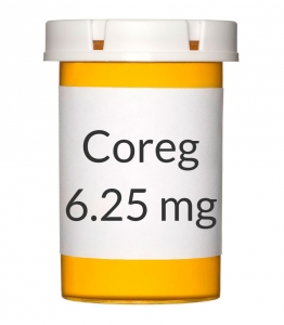 Coreg 6.25mg Tablets