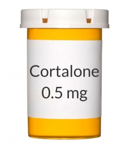 Cortalone 0.5 mg Tablets (1000 Count)