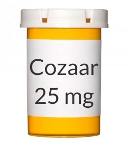 Cozaar 25mg Tablets