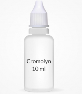 Cromolyn 4% Ophthalmic Eye Solution (10ml Bottle)