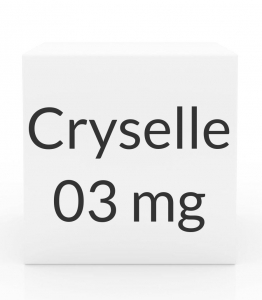 Cryselle 0.3-0.03mg - 28-Tablet Pack