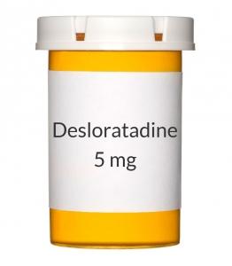 Desloratadine 5 mg Tablets (Generic Clarinex)