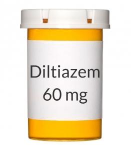 Diltiazem 60 mg Tablets