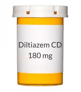 Diltiazem CD 180mg Capsules