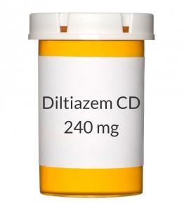 Diltiazem CD 240mg Capsules
