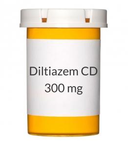 Diltiazem CD 300mg Capsules