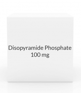Disopyramide Phosphate 100mg Capsules (Greenstone)