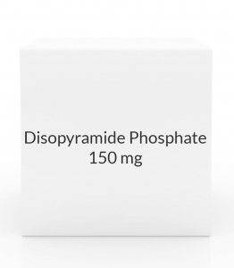 Disopyramide Phosphate 150mg Capsules (Greenstone)