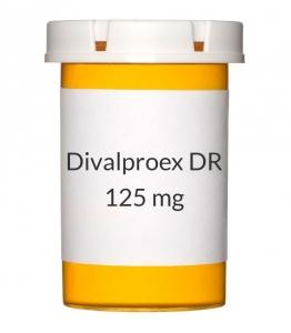 Divalproex DR 125 mg Tablets (Generic Depakote)
