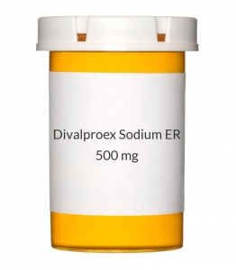 Divalproex Sodium ER 500mg Tablets