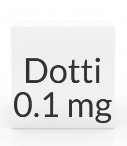 Dotti 0.1mg/24HR Transdermal Patch- 8ct