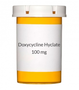 Doxycycline Hyclate 100 mg Capsules