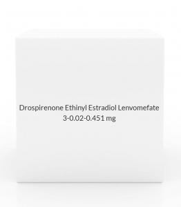 Drospirenone Ethinyl Estradiol Lenvomefate 3-0.02-0.451mg- 28 Tablet Pack