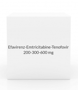 Efavirenz-Emtricitabine-Tenofovir 200-300-600mg Tablets