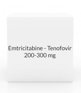 Emtricitabine - Tenofovir 200-300mg Tablets