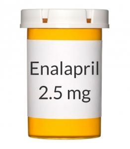 Enalapril 2.5mg Tablets