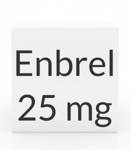 Enbrel 25mg / 0.5ml Prefilled Syringe - Box of 4 Syringes