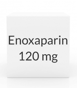 Enoxaparin 120mg/0.8ml Prefilled Syringe (10 Syringes per Box)
