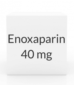 Enoxaparin 40mg/0.4ml Prefilled Syringe (10 Syringes per Box)