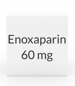 Enoxaparin 60mg/0.6ml Prefilled Syringe (10 Syringes per Box)
