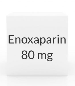 Enoxaparin 80mg/0.8ml Prefilled Syringe (10 Syringes per Box)