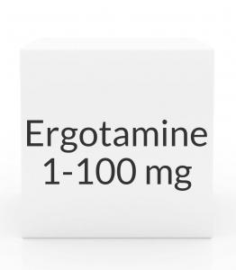 Ergotamine/Caffeine 1-100mg Tablets