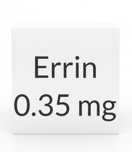 Errin 0.35mg Tablets - 28 Count Pack