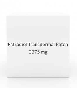 Estradiol Transdermal Patch 0.0375mg/24 Hours (Pack of 4)
