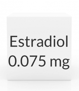 Estradiol 0.075mg Patch (8 Patch Pack)