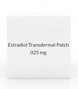 Estradiol Transdermal Patch 0.025mg/Day (Pack of 4)