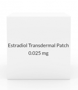 Estradiol Transdermal Patch 0.025mg/Day (Pack of 4)