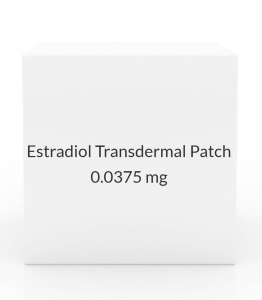 Estradiol Transdermal Patch 0.0375mg/24 Hours (Pack of 4)
