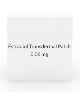 Estradiol Transdermal Patch 0.06mg/Day (Pack of 4)
