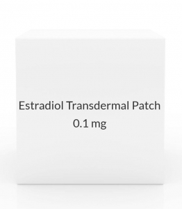 Estradiol Transdermal Patch 0.1mg/24 Hours (Pack of 4)