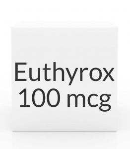 Euthyrox 100mcg Unit Dose Tablet- 30ct Blister Pack