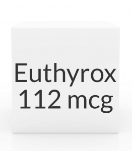 Euthyrox 112mcg Unit Dose Tablet- 30ct Blister Pack
