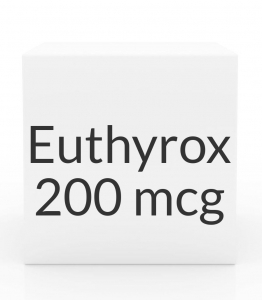 Euthyrox 200mcg Unit Dose Tablet- 30ct Blister Pack