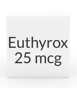 Euthyrox 25mcg Unit Dose Tablet- 30ct Blister Pack