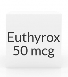Euthyrox 50mcg Unit Dose Tablet- 30ct Blister Pack