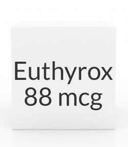 Euthyrox 88mcg Unit Dose Tablet- 30ct Blister Pack