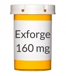 Exforge 10-160mg Tablets - 30 Count Bottle