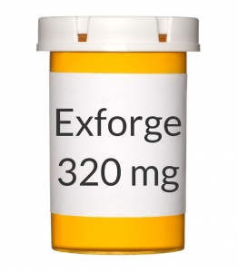 Exforge 10-320mg Tablets - 30 Count Bottle