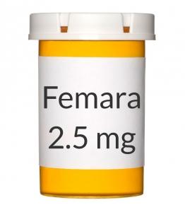 Femara 2.5mg Tablets