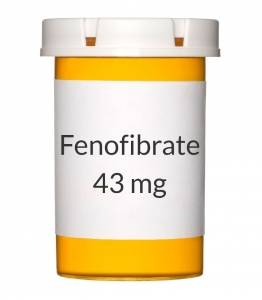 Fenofibrate 43 mg Capsules (Generic Antara)