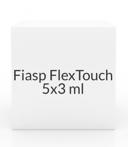 Fiasp FlexTouch 100U/ml Insulin Pens- 5x3ml