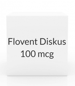 Flovent Diskus 100 mcg Aerosol Inhaler - 60 Metered Doses