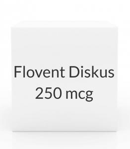 Flovent Diskus 250 mcg Aerosol Inhaler - 60 Metered Doses
