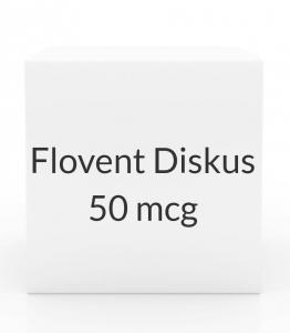 Flovent Diskus 50 mcg Aerosol Inhaler - 60 Metered Doses