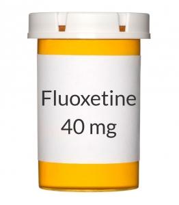 Fluoxetine 40mg Capsules